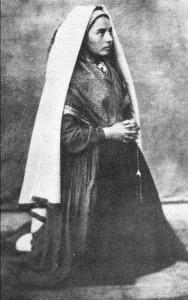 Prière de Sainte Bernadette à Marie