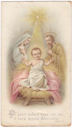 La Nativité du Sauveur