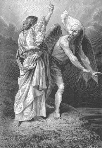 La tentation de Jésus au désert
