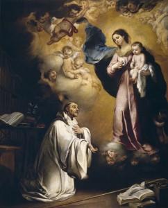 Prières de Saint Bernard à la Très sainte Vierge marie