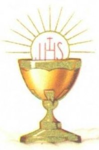 Je vous aime dans le très saint Sacrement de l'autel