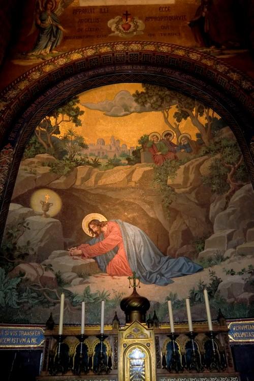 Agonie de Notre Seigneur au jardin des oliviers