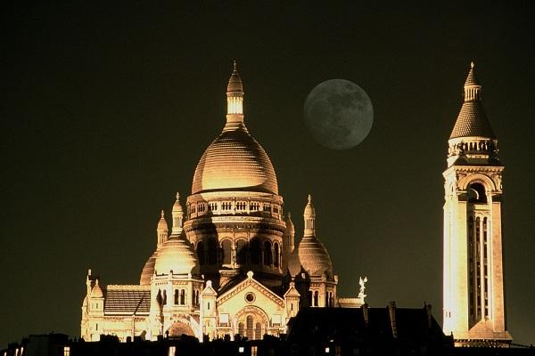 Montmartre la basilique du Sacré Coeur