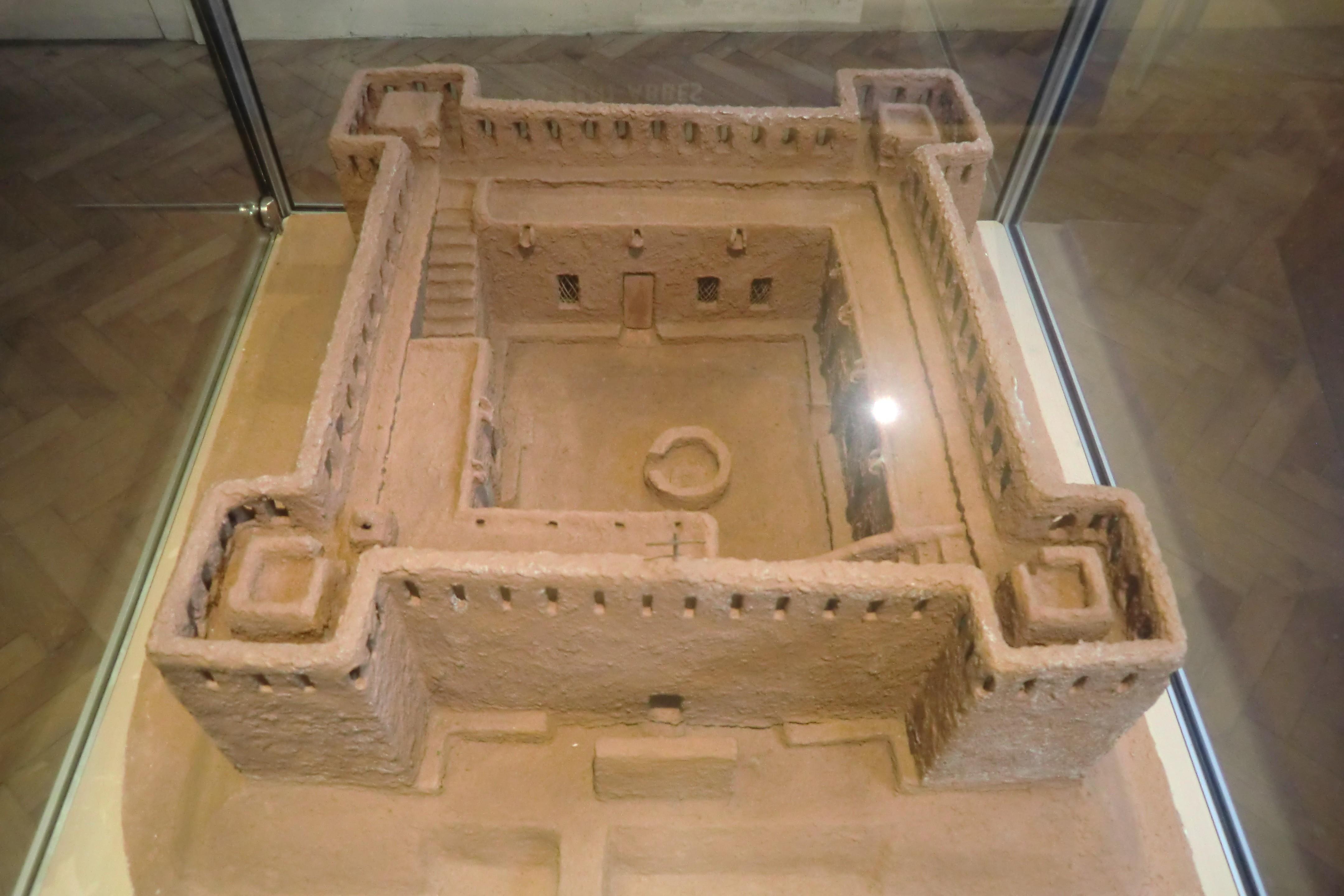 Maquette du fortin où Charles de Foucauld fut assassiné