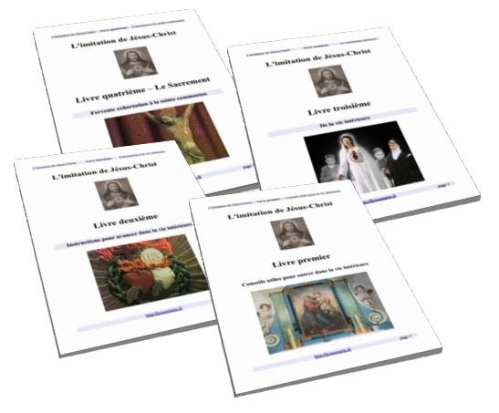 L'imitation de Jésus-Christ en 4 volumes (PDF) en téléchargement gratuit