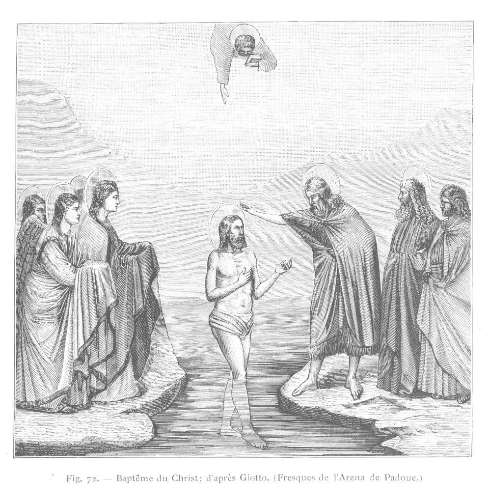 LE BAPTÊME DE NOTRE-SEIGNEUR PAR JEAN-BAPTISTE - Épiphanie