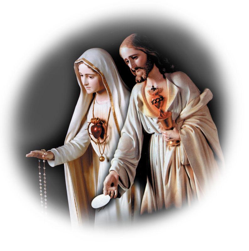 Levez-vous et mangez le Pain des forts! Coeur Sacré de Jésus, ayez pitié de nous! Coeur immaculé de Marie, priez pour nous!